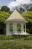 Pavilhão em jardins botânicos de Singapore Foto de Stock