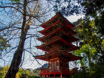 Pavilhão japonês fotografia de stock