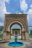 Pavilhão marroquino em Putrajaya, Malásia fotos de stock royalty free
