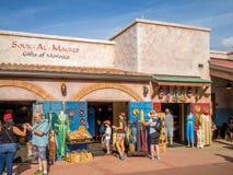 Pavilhão marroquino, mostra do mundo, Epcot Foto de Stock