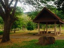 Pavilhão no jardim Fotografia de Stock