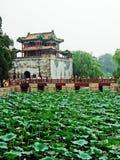 Pavilhão no palácio de verão Fotos de Stock Royalty Free