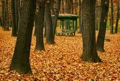 Pavilhão no parque Fotografia de Stock Royalty Free