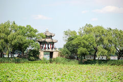 Pavilhão, palácio de verão fotografia de stock