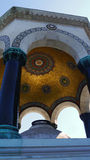 Pavilhão próximo à mesquita azul Imagens de Stock