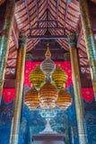 Pavilhão real da arquitetura tailandesa Fotos de Stock Royalty Free