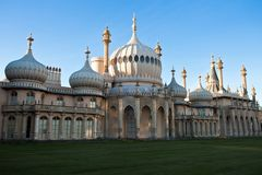 Pavilhão real de Brigghton Inglaterra fotografia de stock royalty free