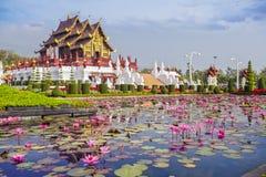 Pavilhão real de Chiangmai Imagens de Stock Royalty Free
