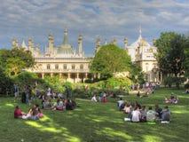 Pavilhão real e jardins, Brigghton imagens de stock royalty free