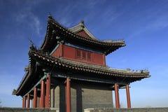 Pavilhão sobre a porta da cidade Foto de Stock
