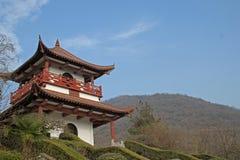 Pavilhão tradicional chinês Fotografia de Stock