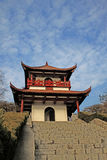 Pavilhão tradicional chinês Fotos de Stock