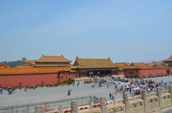 Pavilhões dos pagodes dentro do complexo do Templo do Céu no Pequim Imagem de Stock Royalty Free
