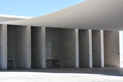 The Pavilhao de Portugal in Lisbon, Portugal Royalty Free Stock Photos