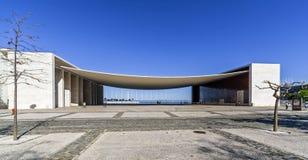 Pavilhao de Portugalia, aka Portugalski pawilon w Parque das Nacoes, Obrazy Royalty Free