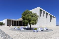 Pavilhao de Portugalia, aka Portugalski pawilon w Parque das Nacoes, Zdjęcia Stock