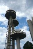 Pavilhão dos Estados de Nova Iorque da feira de mundo de New York Fotografia de Stock Royalty Free