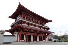 Pavilian de la universidad de Zhejiang Buda, adobe rgb Fotografía de archivo libre de regalías