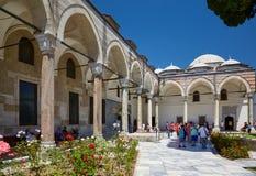 Pavililon Święta salopa w Topkapi pałac, Istanbuł zdjęcie royalty free