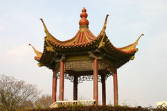 Pavilion. The chinese Pavilion on the lake Stock Image
