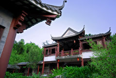 Pavilion. Chinese pavilion in the historic RenMen Park, DongGuan, China Royalty Free Stock Photo