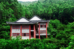Pavilion. Chinese pavilion in the historic ShuiLian Mountain, DongGuan, China Stock Photo