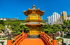 Pavilion of Absolute Perfection in Nan Lian Garden, Hong Kong. Pavilion of Absolute Perfection in Nan Lian Garden, a Chinese Classical Garden in Hong Kong, China Stock Photography