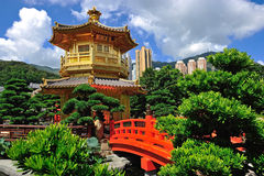 The Pavilion of Absolute Perfection in the Nan Lian Garden Royalty Free Stock Photos