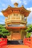 The Pavilion of Absolute Perfection in the Nan Lian Garden Stock Photos