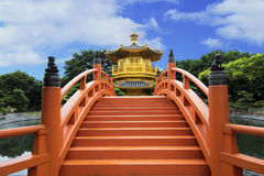 Pavilion Of Absolute Perfection In Nan Lian Garden, Hong Kong. Pavilion Of Absolute Perfection In Nan Lian Garden, Chi Lin Nunnery, Hong Kong, China Stock Image