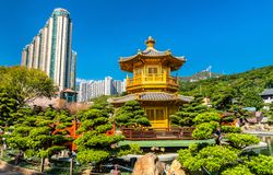 Pavilion of Absolute Perfection in Nan Lian Garden, Hong Kong. Pavilion of Absolute Perfection in Nan Lian Garden, a Chinese Classical Garden in Hong Kong, China Royalty Free Stock Image