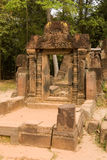 Pavilion, Banteay Srei Temple, Cambodia Royalty Free Stock Photo