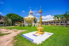 Pavilion (Bat Bo Holy Father money) Wat Yang Khoi Kluea at Phichit Thailand. Stock Photo