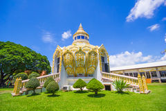 Pavilion (Bat Bo Holy Father money) Wat Yang Khoi Kluea at Phichit Thailand. Royalty Free Stock Photography