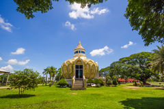 Pavilion (Bat Bo Holy Father money) Wat Yang Khoi Kluea at Phichit Thailand. Royalty Free Stock Photos