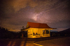 Pavilion The Buddha at night Royalty Free Stock Photo