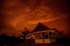 Pavilion The Buddha at night Royalty Free Stock Image