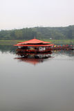 Pavilion built on water Stock Image