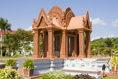 Pavilion in Cambodia Royalty Free Stock Image