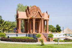 Pavilion in Cambodia Royalty Free Stock Images