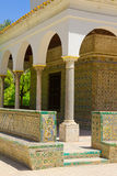 Pavilion of Carlos V in Alcazar,  Seville, Spain Royalty Free Stock Image
