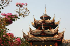 Pavilion in Chinese garden Royalty Free Stock Photos