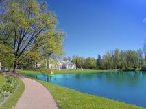 Pavilion Chinese palace. Oranienbaum (Lomonosov). Russia. royalty free stock photos