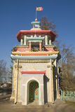 Pavilion in Chinese style in Tsarskoe Selo Stock Images
