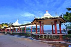 Pavilion at dusk Stock Image