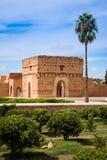 Pavilion at El Badi palace.  Marrakesh . Morocco Royalty Free Stock Images