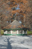 Pavilion in the English Garden Stock Image