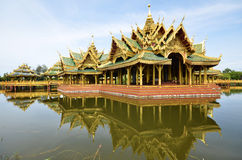 Pavilion of the Enlightened in Ancient city in Bangkok Stock Image