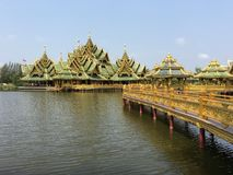 Pavilion of the Enlightened. In Ancient Siam Bangkok Thailand Stock Image