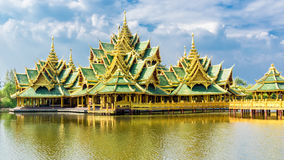 Pavilion of the Enlightened, Ancient Siam Stock Photos